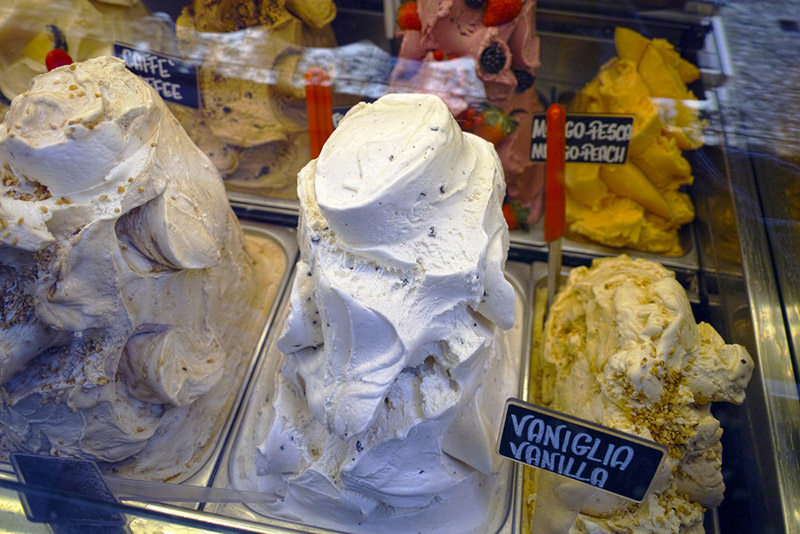 Authentic Gelato in Florence