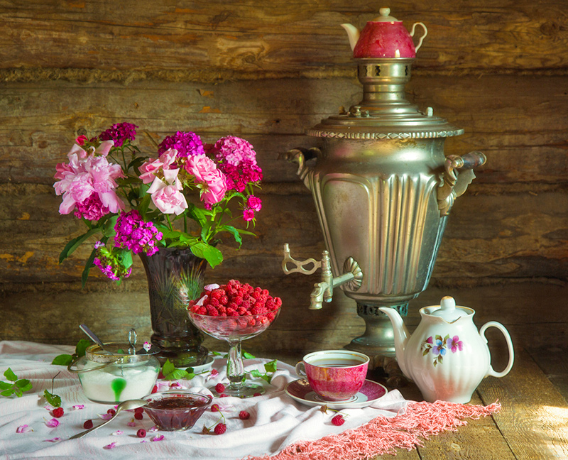 The Best Travel Destinations for Tea Lovers - Russia - Traditional Tea-making using Samovar