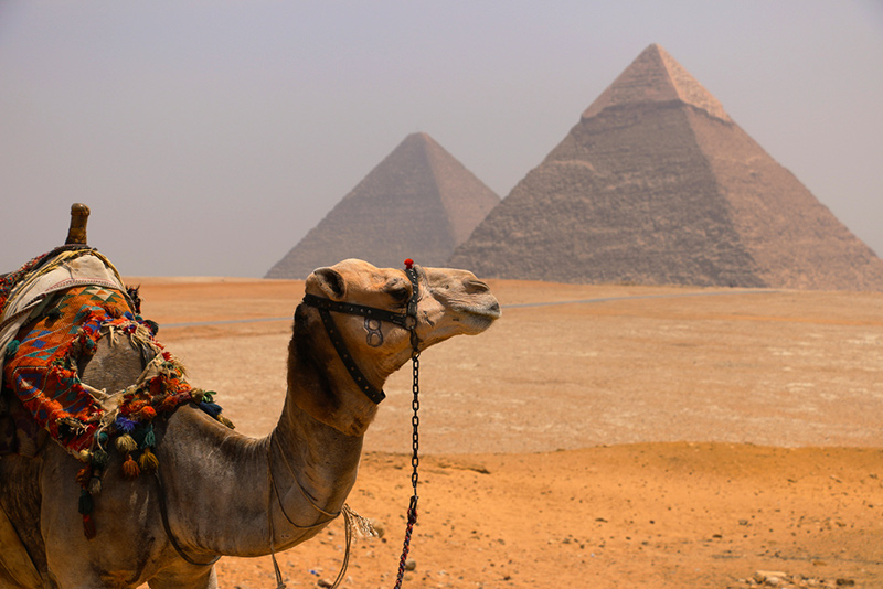 5 Fascinating Places to Add to Your Bucket List - Pyramids of Giza in Egypt