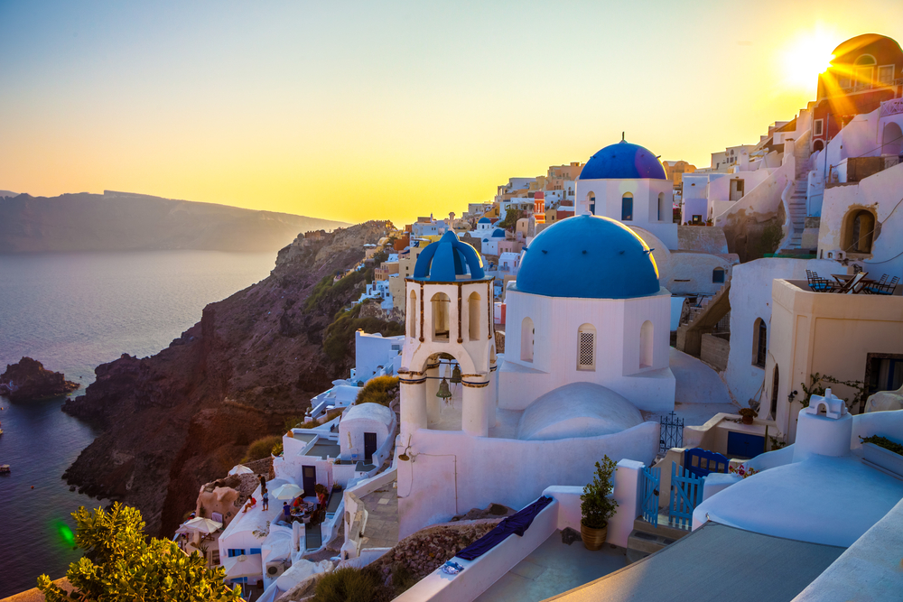 7 of the World's Best Island Destinations to Visit for a Beach Holiday - Top Island and Beach Vacation Destinations - Santorini in Greece