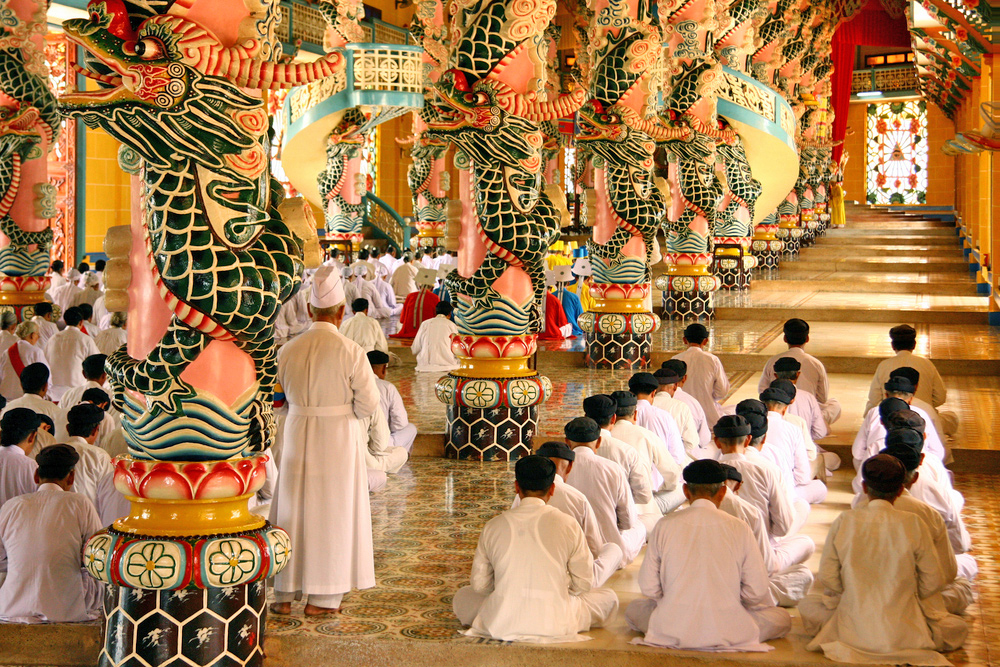5 Amazing Experiences to Try in Ho Chi Minh City - Cao Dai Temple