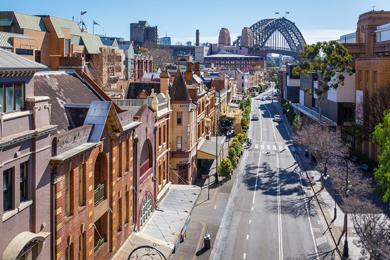 7 Reasons Why Sydney is the Best City to Visit on Your Next Vacation - The Rocks Historical Buildings