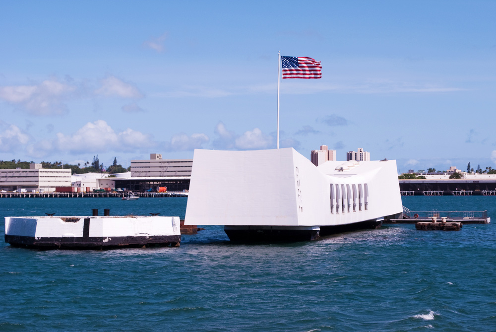 15 Must-visit WWII Destinations for History Buffs - USS Arizona Memorial in Oahu, Hawaii