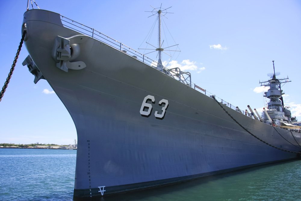15 Must-visit WWII Destinations for History Buffs - USS Missouri Memorial in Oahu, Hawaii