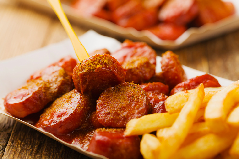 20 Street Foods to Eat in Europe - Currywurst in Germany
