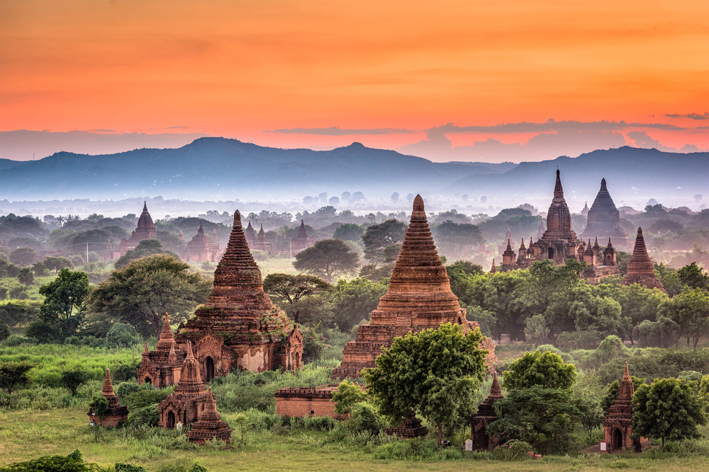 20 Surreal Places to Add to Your Must-visit List - Bagan, Myanmar