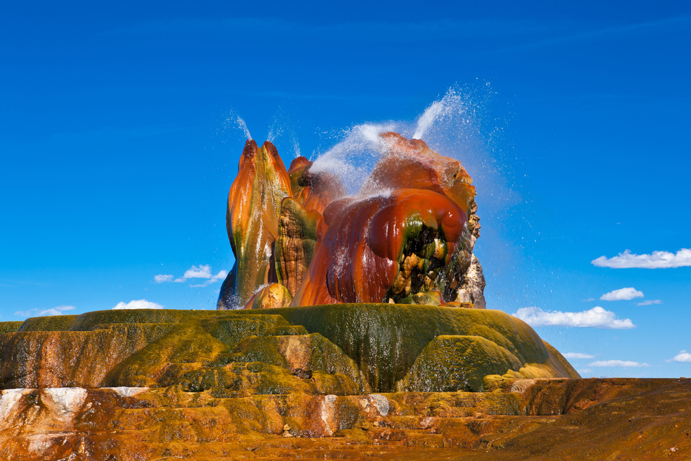 20 Surreal Places to Add to Your Must-visit List - Fly Geyser, Nevada