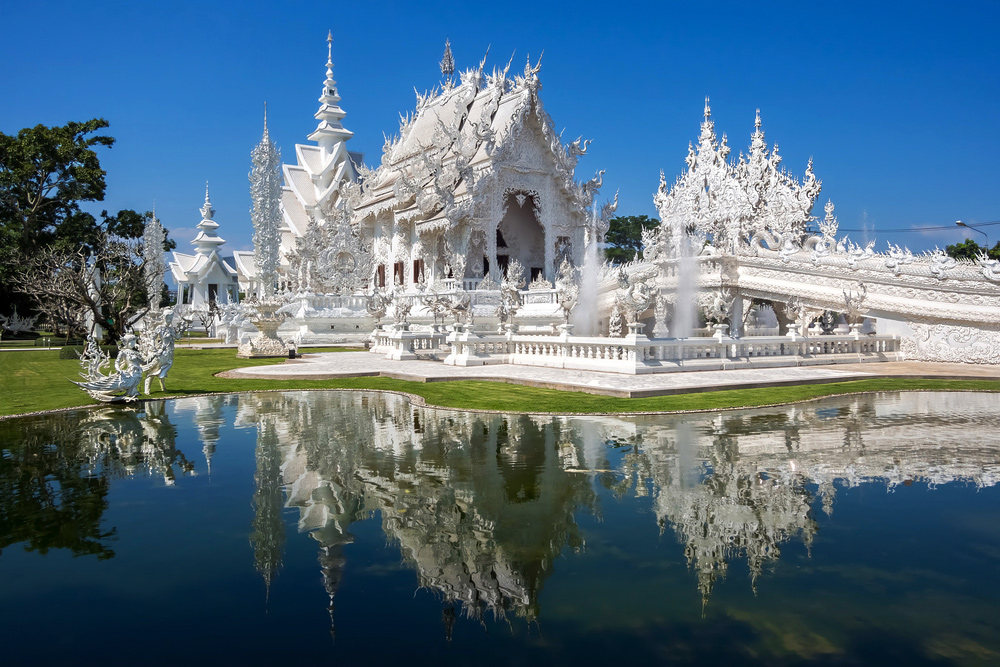 Overlooked Asian Destinations to Visit at Least Once in Your Lifetime - The White Temple in Chiang Rai