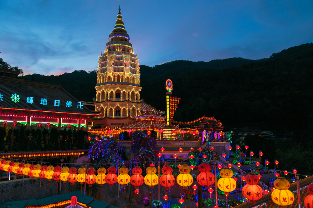 19 of the Most Noteworthy Temples to Visit in Southeast Asia - Kek Lok Si, Penang