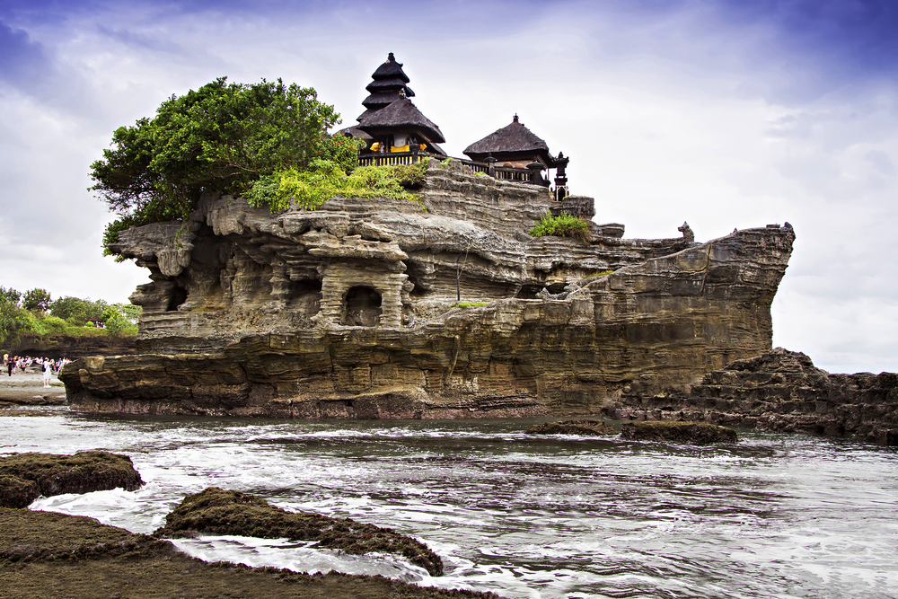 19 of the Most Noteworthy Temples to Visit in Southeast Asia - Tanah Lot in Bali