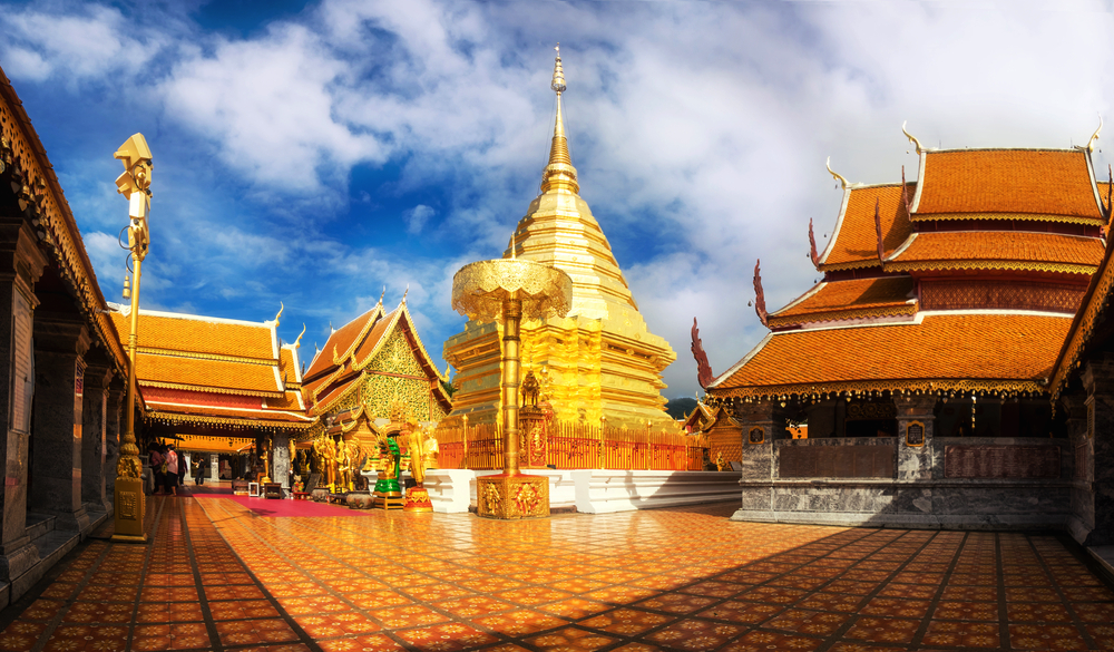 19 of the Most Noteworthy Temples to Visit in Southeast Asia - Wat Phra That Doi Suthep