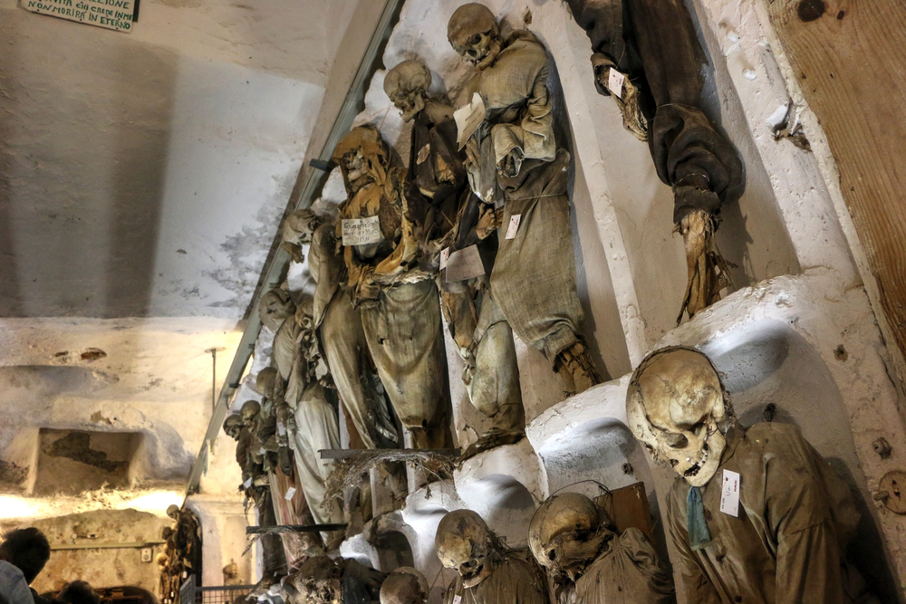 Terrifying Places that Will Surely Scare the Wits Out of You - Capuchin Catacombs in Sicily, Palermo