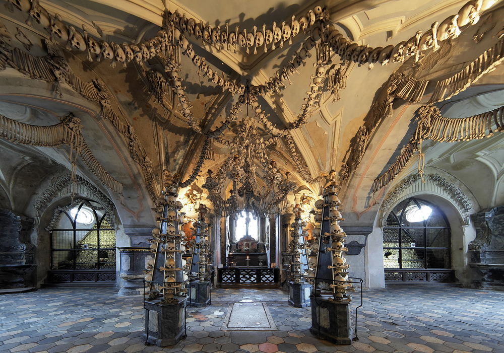 Terrifying Places that Will Surely Scare the Wits Out of You - Sedlec Ossuary in Czech Republic