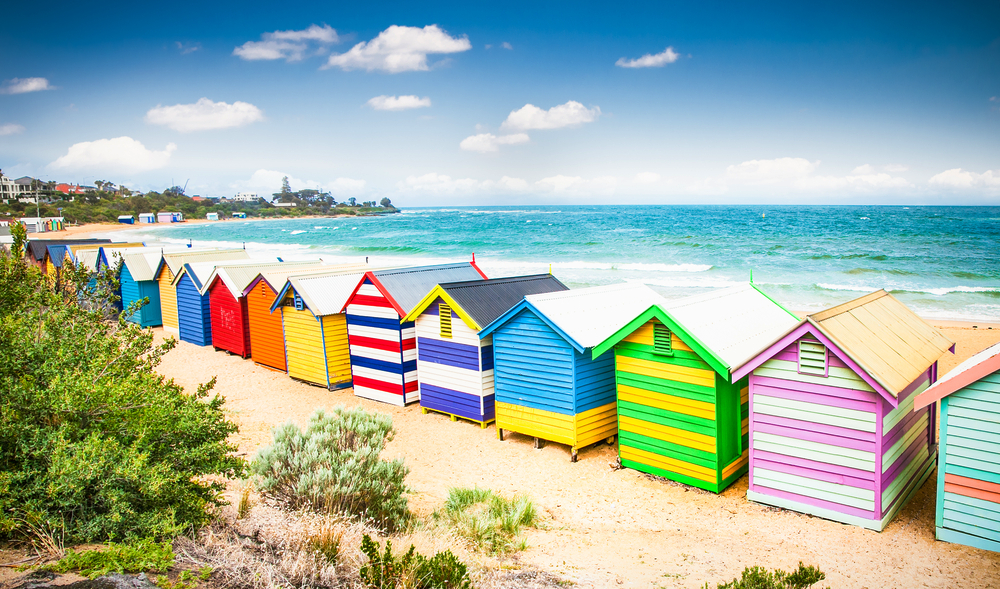 Melbourne City Guide - How to Spend 72 Hours in Melbourne - Brighton Beach - Bathing Boxes