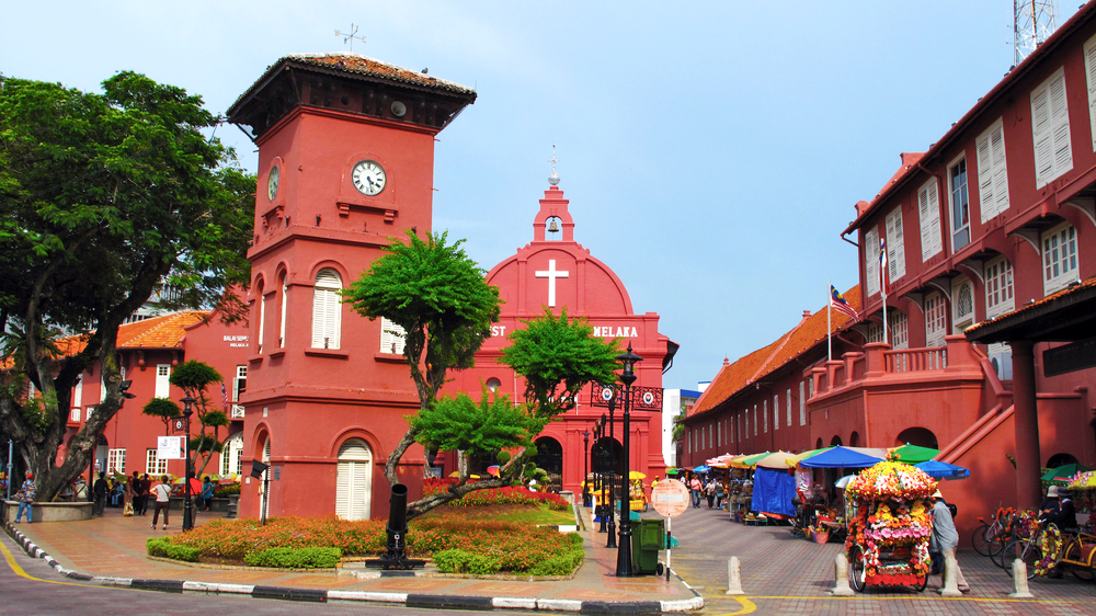 City Guide - Discover Kuala Lumpur in 4 Days - Malacca Red Square - Melaka Dutch Square