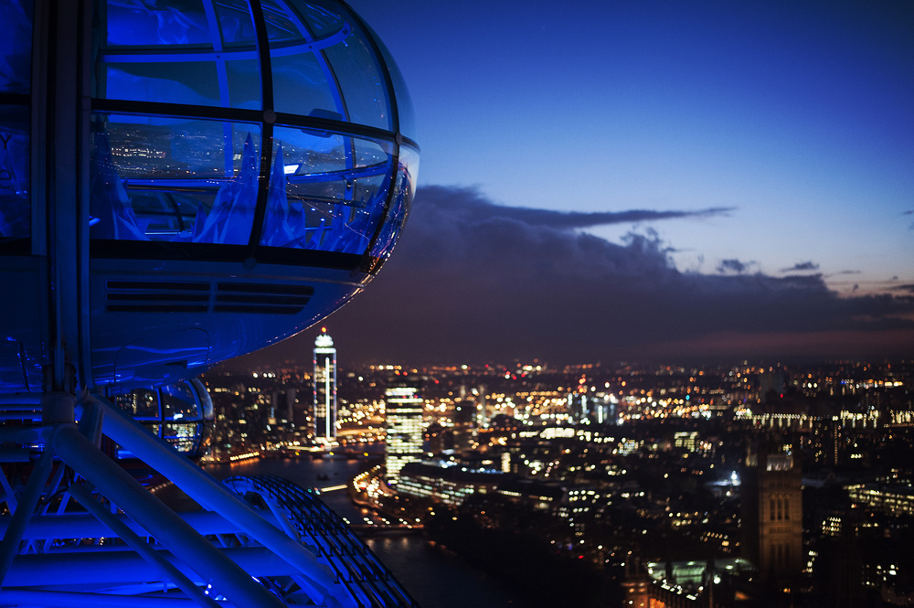 City Guide - An Ideal Itinerary for First-time Visitors to London - London Eye - London Cityscape