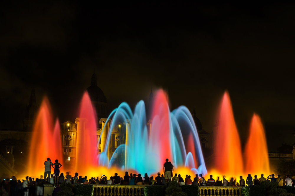 City Guide - How to Spend the Perfect 4 Days in Barcelona - Montjuic Magic Fountain
