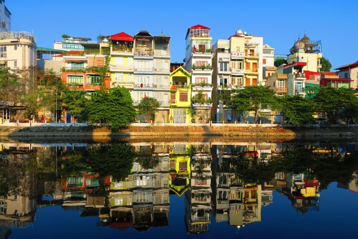 Hanoi: The Old Quarter from the water