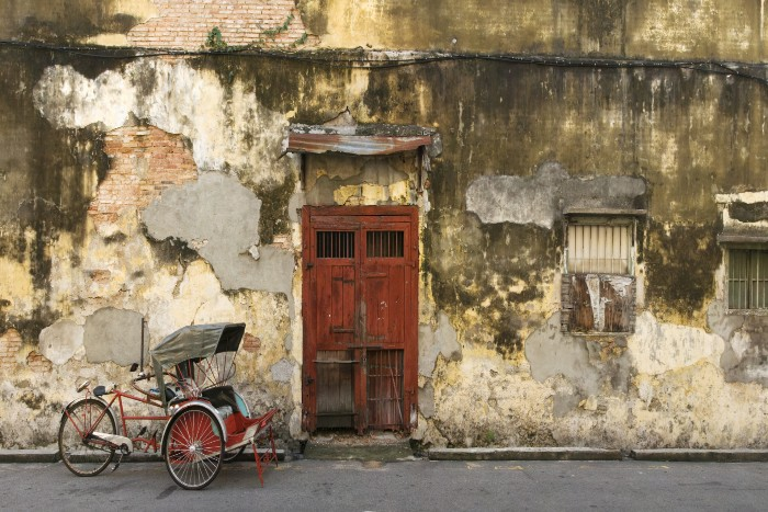 Penang: Old stone structure