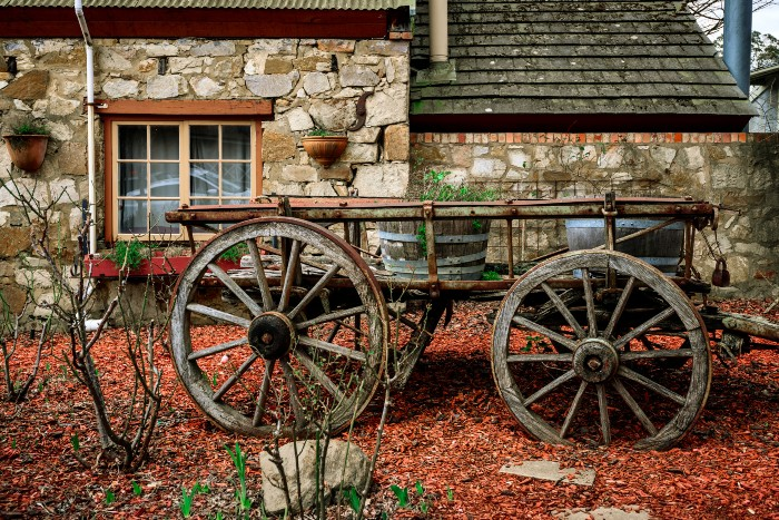Adelaide: An old carriage