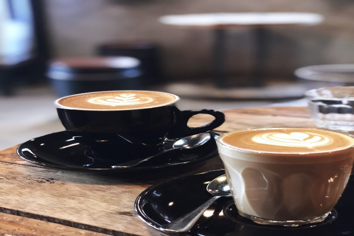 Melbourne: two cups of coffee