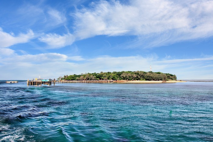 Cairns: Blue waters and the Green Island