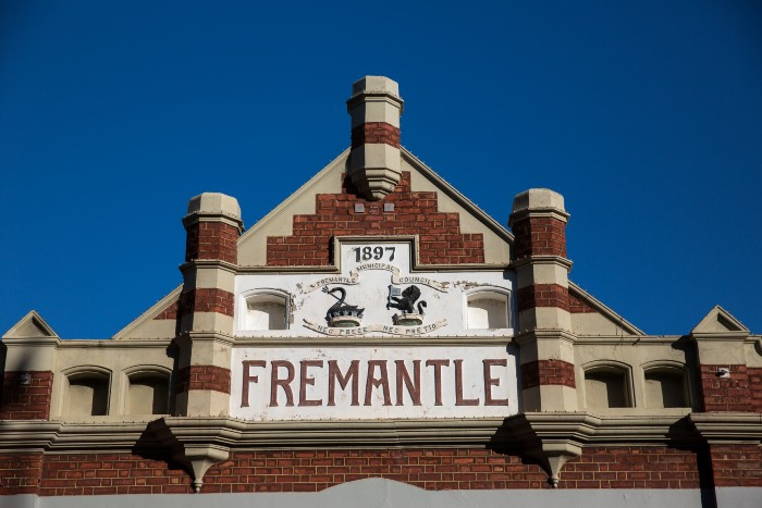 Perth: One of the old structures in Fremantle