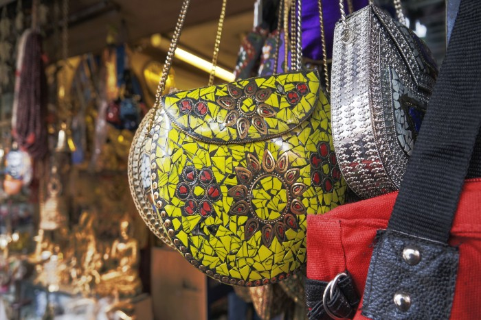 native bags being sold in the market