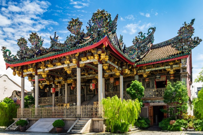 Penang: a traditional clan house with an amazing architecture