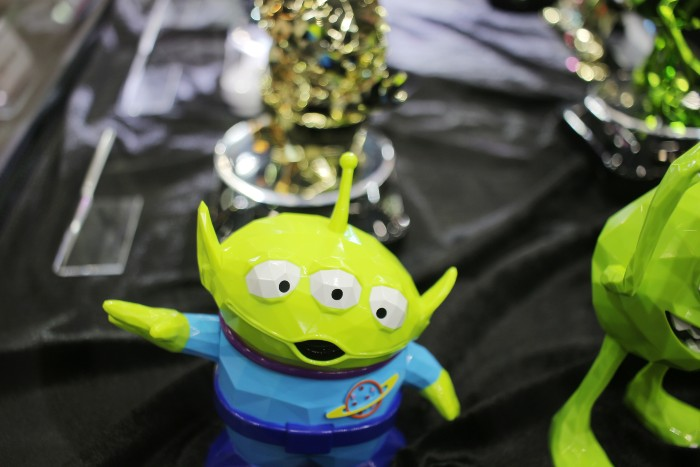 kid-friendly attractions in Hong Kong: a monster toy on the table